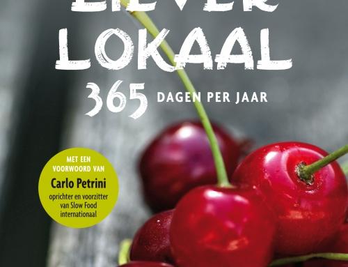 Liever Lokaal genomineerd Gouden Kookboek 2015